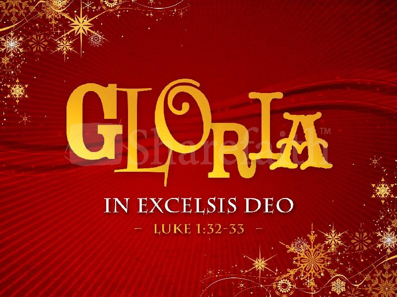 Gloria In Excelsis Deo KEVIN NUNEZ
